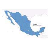 Elementos Herramientas Web - Mapa Interactivo De México