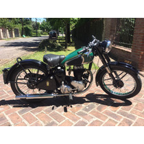 Moto Bsa C11 250cc 1947 De Colección - Video