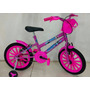 Bicicleta Infantil Aro 16 Feminina Frozen Vip Bikes