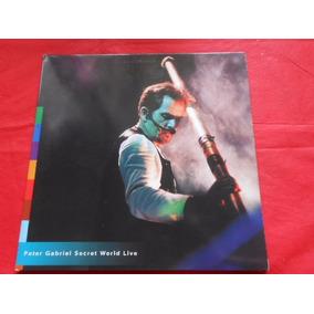 Laserdisc Peter Gabriel Secret World Live Capa Dupla