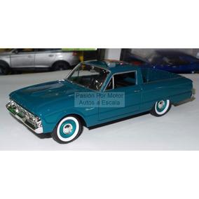 1:24 Ford Ranchero 1960 Verde Pick Up Motor Max C Caja