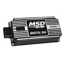 Modulo De Ignição 6al Digital Msd Preto Amplificador/corte