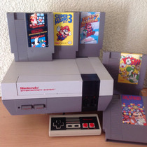 Nintendo Nes Trilogia Juegos Mario 1,2,3