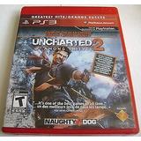 Uncharted 2 Among Thieves Ps3 Mídia Física Novo Lacrado