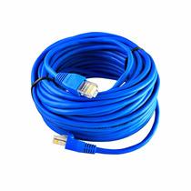 Cabo De Rede Rj45 Internet Cat5e Ethernet Lan 15 Metros Azul