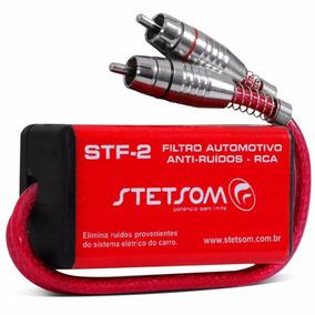 Filtro Anti Ruido Stf2 Stetsom Supressor Rca Stf-2