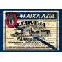 Placa Vintage King 39x27cm Faixa Azul Antárctica Bc.03240