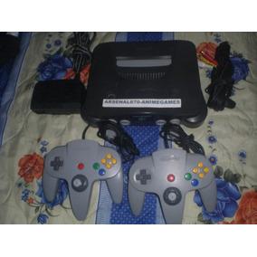 Nintendo 64 2 Controles Mario Kart Y 3 Juegos Mas N64