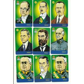 Cartão Telefônico Presidentes Brasileiros Coleção 9 Cts L1