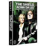 Dvd The Shield Acima Da Lei - 4ª Temporada 4 Dvds Original