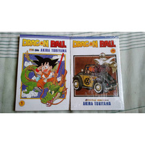 Mangá Dragon Ball Volumes 01 A 29 Coleção Panini