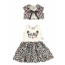 Vestido Infantil Malwee- Tamanho 2
