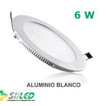Panel De Led 6w P/bote Integral De 10cm ¡oferta!