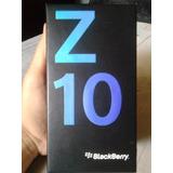 Caja Blackberry Z10 + Manuales