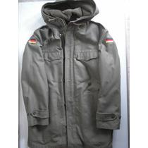 Chaqueta Militar Alemana Bundesweh Army Parka Talla M 1985