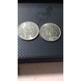 0,5 Centavos 1977 Cara De Boi