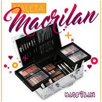 Maleta Maquiagem Completa Profissional Macrilan + Brinde