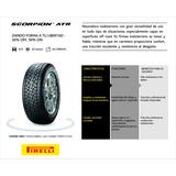 Pirelli 205/70-15 Scorpion Atr C/vál Cromada Y Envio Gratis