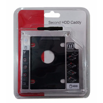 Adaptador Dvd P/ Hd Ou Ssd Notebook Drive 12.7mm Sata Caddy