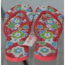 Sandália / Chinelo Dupé Floral 37/38