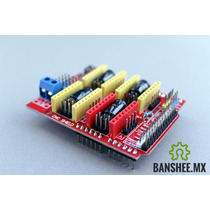 Cnc Shield V3.1 4 Ejes Arduino Gbrl Compatible Drv8825 A4988