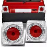 Faro Trasero Fiat Uno 88/91 --tuning-- Cristal Derecho