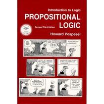 Livro Importado Introduction To Logic Propositional Logic