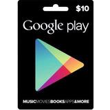 Tarjeta De Recarga Para Google Play Store $10 $15 $25 $50