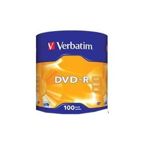 Dvd Virgen Verbatim -r Estampado X100 Unidades.