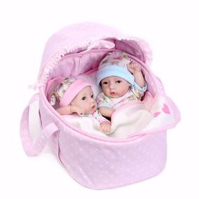 Bebês Reborn Gêmeos Cesto Mais Vendidos