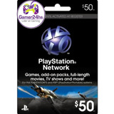Tarjeta Psn U$50 Digital Usa | Entrega Inmediata - G24