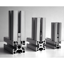 Perfil Extructural De 20 X 20 De Aluminio Por Metro Lineal