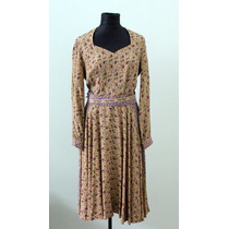 Vestido Vestuario Vintage Est. Art And Crafts Ingles -