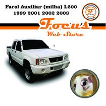 Farol Auxiliar (milha) L200 1999 2001 2002 2003