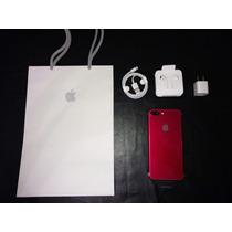 Iphone 7 Plus Rojo 128gb Ultimo Disponible