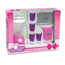 Brinquedo Infantil Criança Menina 3 Anos -kit Liquidificador