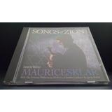 Cd Maurice Sklar - Songs Of Zion. Vta Solo Mcbo.