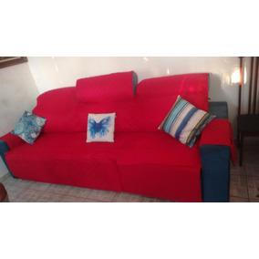 Protetor De Sofa Retratil E Reclinavel 1,80 ,3 Mod [forrado]