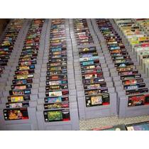 Fitas Super Nintendo Bomberman,rei Leão Vários Títulos Veja