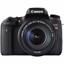 Cámara Reflex Canon Eos Rebel T6s Lente 18-135 Is Stm