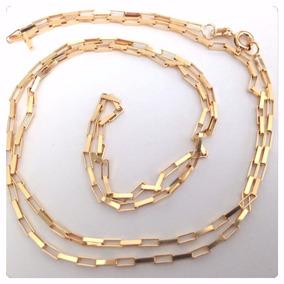 Cordão Cartier Corrente Grossa 70cm Masculino Ouro18k Maciço