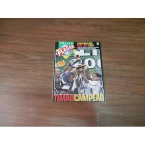 Revista Placar Corinthians Campeão Paulista 2001