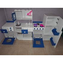 Muebles Cocina Infantil Juego Cocinita Casita Rincon Jardin