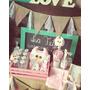 Party Box Decoracion Baby Shower Candy Box Personalizado