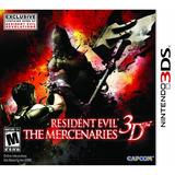 Resident Evil The Mercenaries 3d Fisico Sellado Megasoft