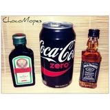 Jagermeister + Coca Cola Zero + Jack Daniels