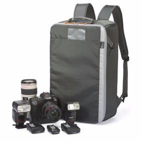 Mochila Mala Rígida Grande P/ Fotografia Cameras Nikon Canon
