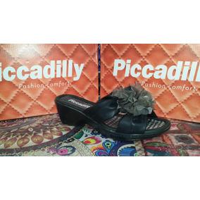 Piccadilly Zueco Con Accesorio Flor