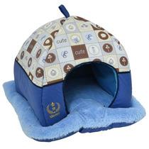 Tenda Pet Cães E Gatos Luxo - Cama Casinha Casa Frete Grátis