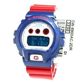 Casio G-shock Dw Ac Azul Rojo (dw Ac-2 Dr)